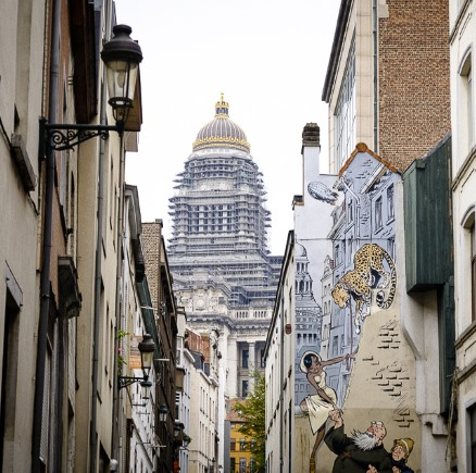 discover unique photo spots in Brussels