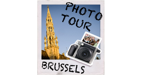 Brussels instant photo tour main page logo